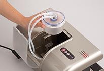 HIPPO配备有内置的集水杯。 即使液体与空气一起进入袋内,也可以使用,无后顾之忧。