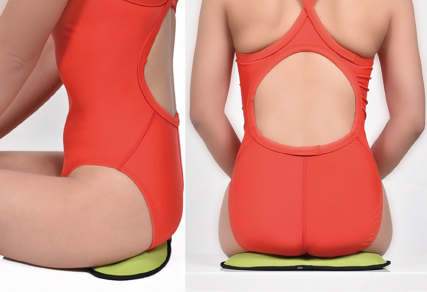 Strengthen pelvic floor muscles to prevent urine leakage<br /> <br /> This cushion, made especially to force compression in this area, strengthens the pelvic floor muscles that cause urine leakage when weakened.